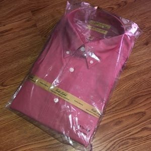 Roundtree & Yorke Shirts - Gold Label Roundtree & Yorke Button Down